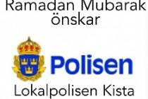 Stockholm Polisinin yayımladığı Ramazan Mesajı rekor kırdı