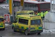 Stockholm'de yolcu taşıyan otobüsler çarpıştı ortalık karıştı