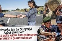 Suriyeli sığınmacılara Mehmetçik'ten şefkat eli