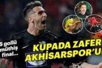 Türkiye Kupası'nı Fenerbahçe'yi yenen Akhisarspor kazandı!