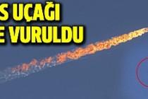 Türkiye, Rusya'ya ait  savaş uçağını düşürdü