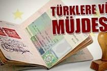 Türklere vize müjdesi!