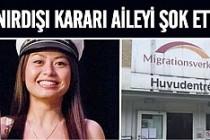 Yanlış anlama sonrası Migrationsverket aileye sınır dışı verdi