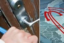 Yurtdışından gelen 1500 hırsız, İsveç'te paniğe neden oldu