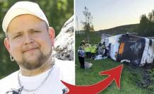 İsveç, devrilen otobüsten çocukları kurtaran şoförü konuşuyor