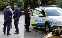 İsveç'te bir kadına saldırı, polis devreye girince zanlı kaçtı