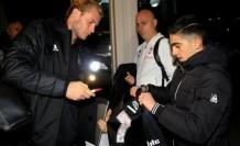 Beşiktaş Kafilesi Sarpsborg'a Ulaştı