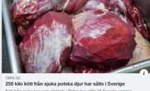 İsveç'e hastalıklı et satmışlar