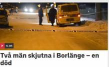 İsveç'te iki genç silahlı saldırıya uğradı