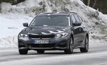 BMW 3 Serisi Touring, İsveç'te test edilirken görüntülendi