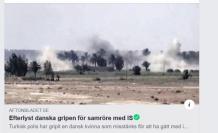 Kırmızı Bültenle Aranan Danimarkalı İŞİD'li Kadını Türk Polisi Yakaladı