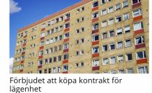 İsveç'te kiralık ev anlaşmasını satan ve alana 4 yıla kadar hapis