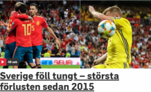 İspanya, İsveç'i farklı geçti! 3-0