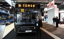 Türk şirketi TEMSA elektrikli modellerini İsveç'te tanıttı