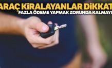Türkiye'de araç kiralayacak gurbetçilere 'belge' uyarısı