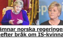 Norveç'te DAEŞ hükümet krizine neden oldu
