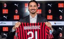 Zlatan İbrahimovic resmen imzayı attı!