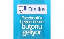 Facebook'ta beğenmeme dönemi