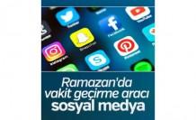 Ramazanda sosyal medya aracı vakit geçirme aracı