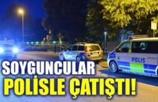 İsveç'te soyguncu polis çatışması iki kişi vuruldu