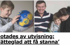 İsveç'te annesi öldürülen çocuğun sınır dışı edilmesine durdurma kararı