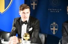 İsveç'te yılın futbolcusu seçildi: Lindelöf