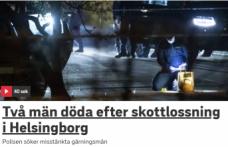 İsveç'te iki kişi öldürüldü