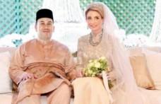 Malezya Sarayı'na İsveçli gelin geldi