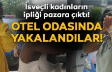 Telefon hırsızı İsveç vatandaşı 3 kadın, otelde yakalandı