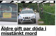 İsveç'te iki kişi ölü bulundu