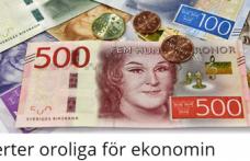 Ekonomi Bakanı: ''İsveç ekonomisini zor günler bekliyor''