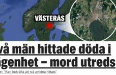 İsveç'te bir evde iki ceset bulundu