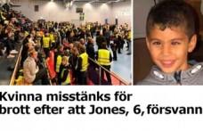 İsveç'te 6 yaşındaki kayıp çocuk olayıyla ilgili bir kadın tutuklandı