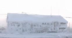 İsveç'in soğuğu, bu köyün yanında sıcak fırın kalır