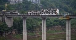 Dünyanın en ilginç köprüsü görenleri şaşırtıyor