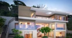 Modern rezidans evler