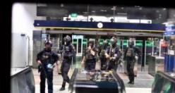 Stockholm'da metrosunda bomba hareketliliği - Özel kuvvetler istasyona indi