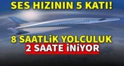 Ses hızının 5 katına çıkabilen bir uçak!