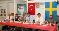 Stockholm'de , ''Göçmenlerin Eğitim Durumu ve Toplumsal Koşullar''Paneli