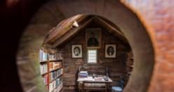 Viking diyarında dünyanın en eski ahşap kitap odası