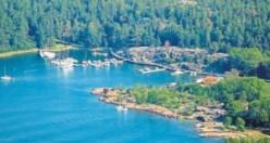 İsveç'in Grinda Adası en iyi adalar arasında