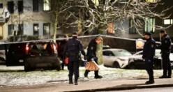 Stockholm'de önce silahlı saldırı, sonra trafik kazası