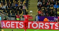 İsveç'te yaşayan gurbetçiler İsveçli futbolcuları büyüledi...