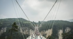 Dünyanın konuştuğu köprü kapatıldı