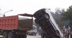Dünya'nın en garip trafik kazaları