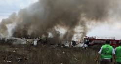 Uçak kazasında mucize kurtuluş: 101 kişi kurtuldu
