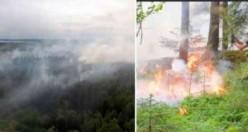 İsveç'te korkulan yangınlar başladı