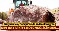 Dünyada tek, Türkiye'de de sadece Elazığ'da