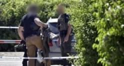 İsveç'te silahlı saldırı polis her yeri didik didik arıyor