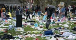 İsveç'te Nevruz ve Valborg etkinlikleri bu görüntülere sahne oldu